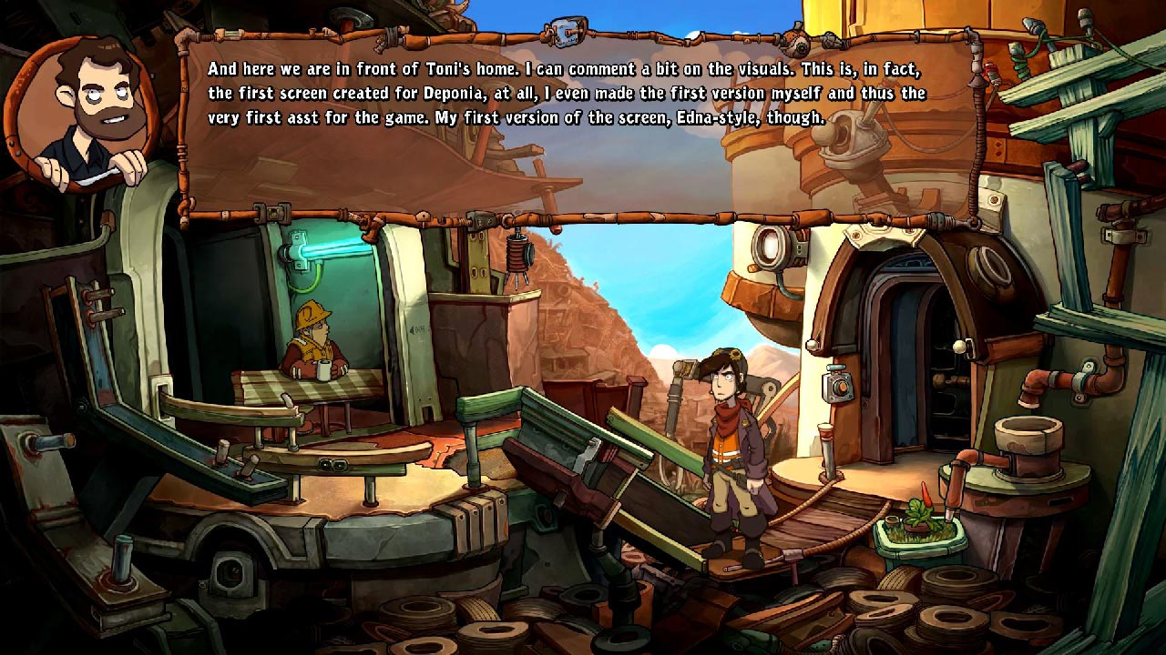 Deponia: The Complete Journey (3 in 1 + Bonus) STEAM