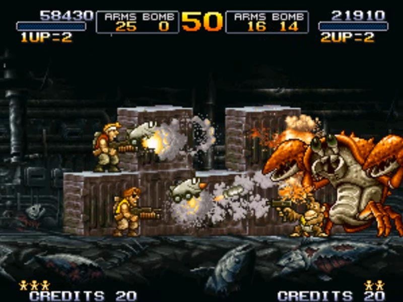 Metal Slug Bundle (1 + 3 + X) STEAM GIFT / RU/CIS