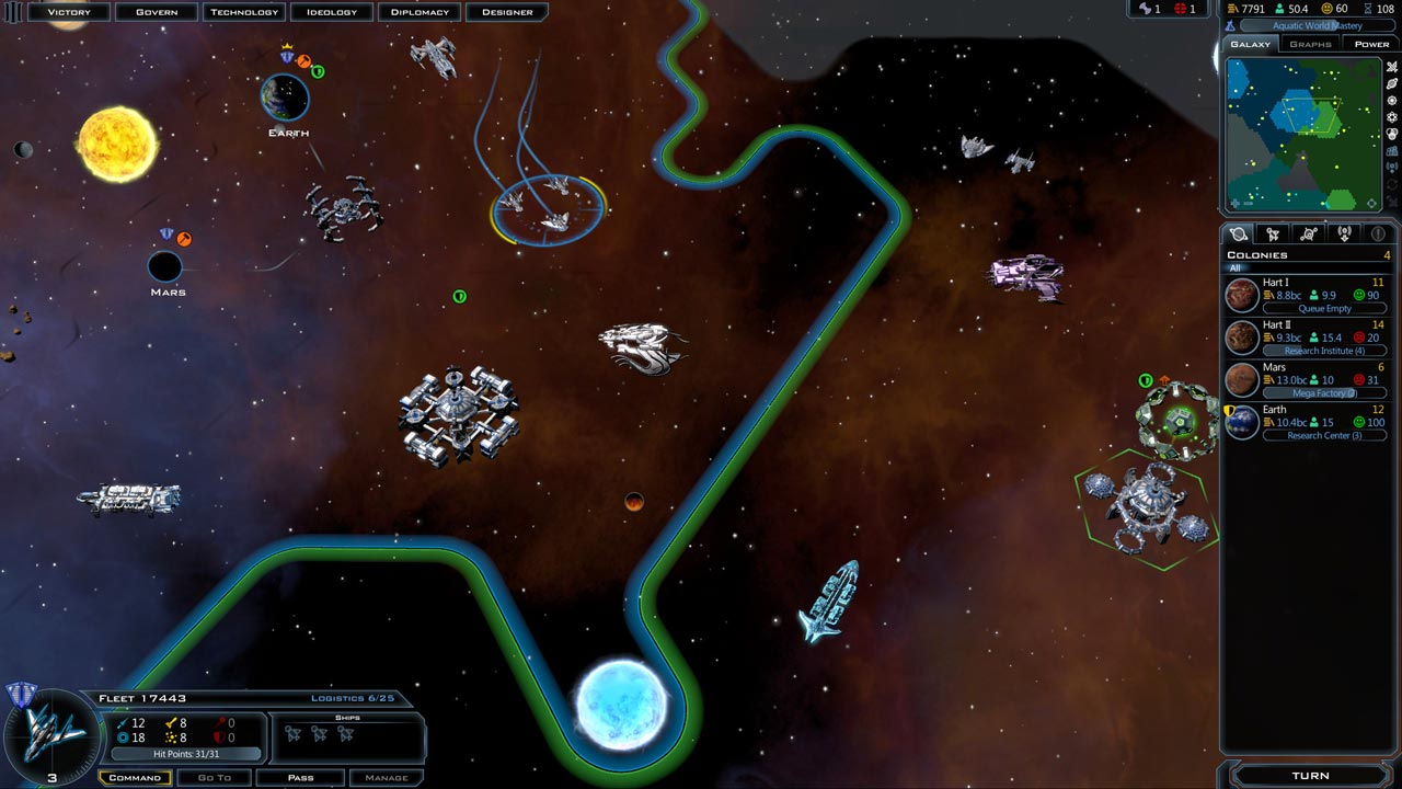 Galactic Civilizations III 3 (STEAM GIFT / RU/CIS)
