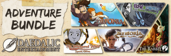 Deponia + Memoria + Edna & Harvey + TNoTR + TWWSE STEAM