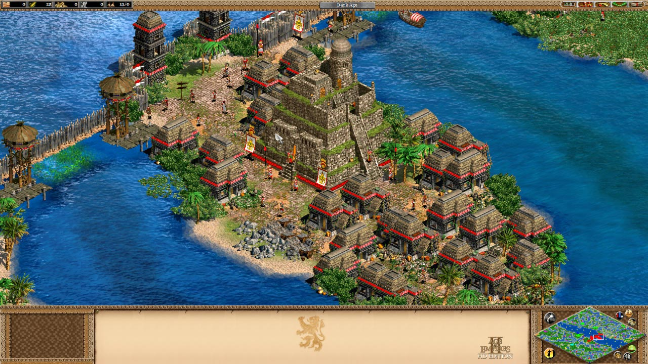 Age of Empires II HD + The Forgotten (STEAM / RU/CIS)