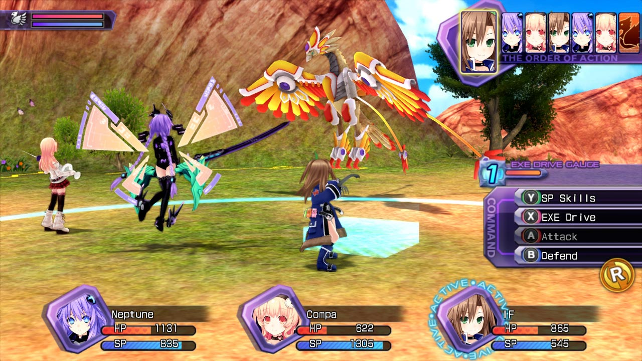 Hyperdimension Neptunia Re;Birth1 (STEAM GIFT / RU/CIS)