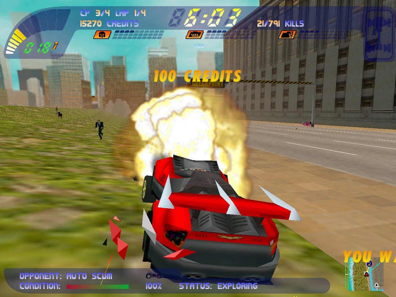 Carmageddon 2: Carpocalypse Now (STEAM GIFT / RU/CIS)