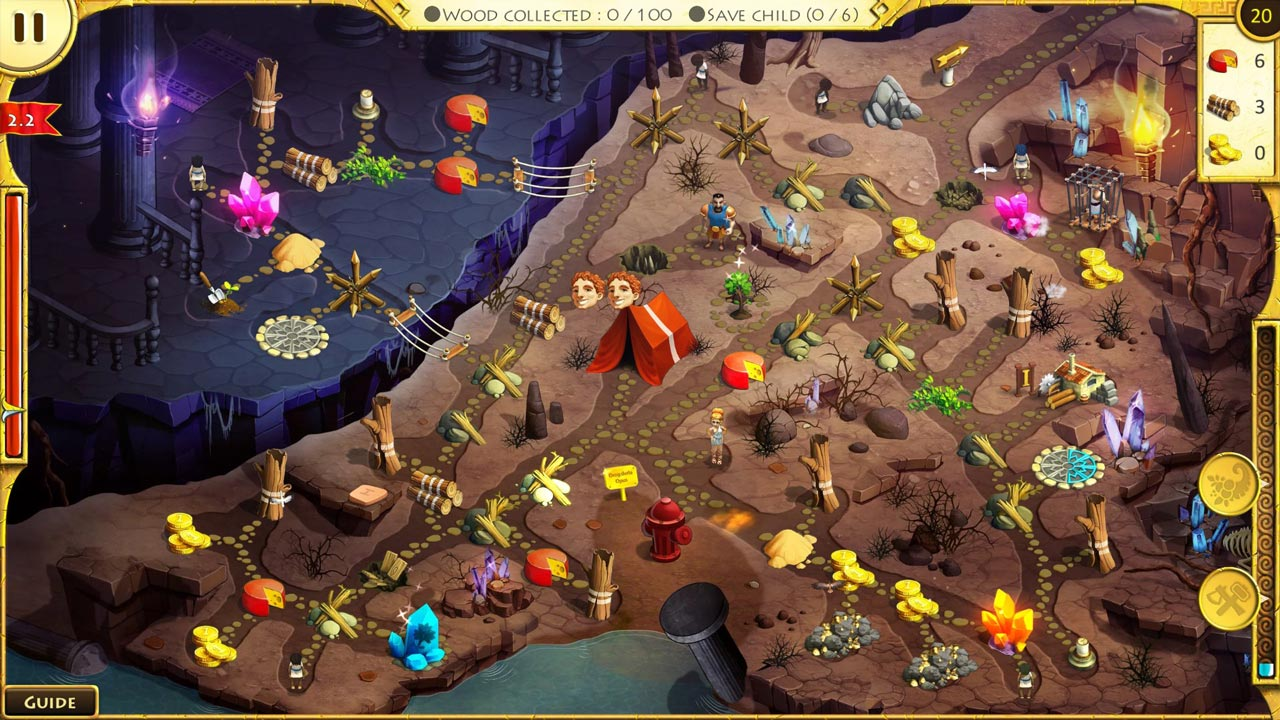 12 Labours of Hercules V: Kids of Hellas (STEAM/RU/CIS)