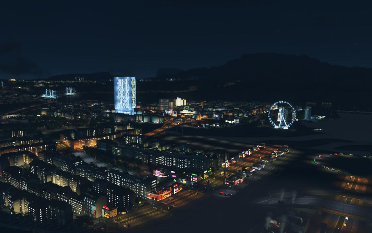 Cities: Skylines - After Dark (DLC) STEAM GIFT / RU/CIS