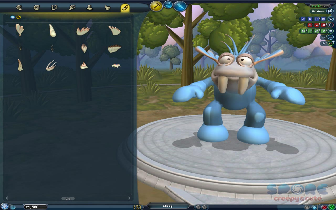 SPORE Creepy & Cute Parts Pack (DLC) STEAM GIFT /RU/CIS