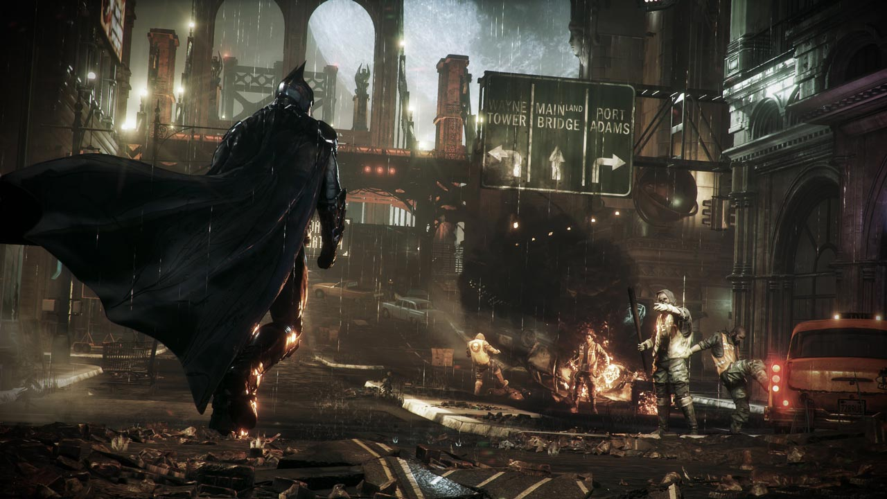 Batman: Arkham Knight / Рыцарь Аркхема (STEAM KEY)