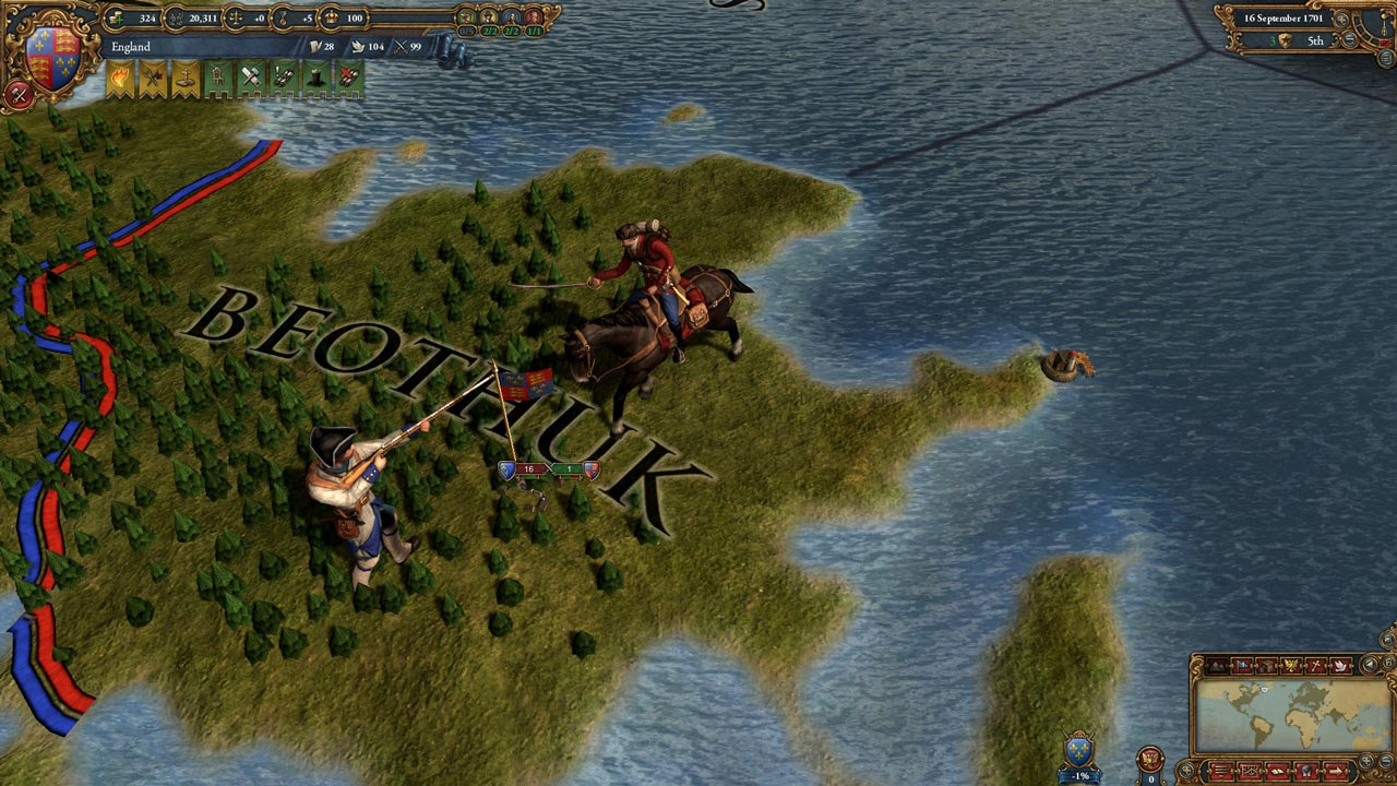 Europa Universalis IV: Colonial British and French UP