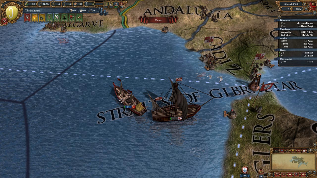 Europa Universalis IV: Muslim Ships Unit Pack (STEAM)