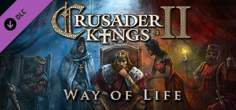 Crusader Kings II: Way of Life (DLC) STEAM GIFT /RU/CIS