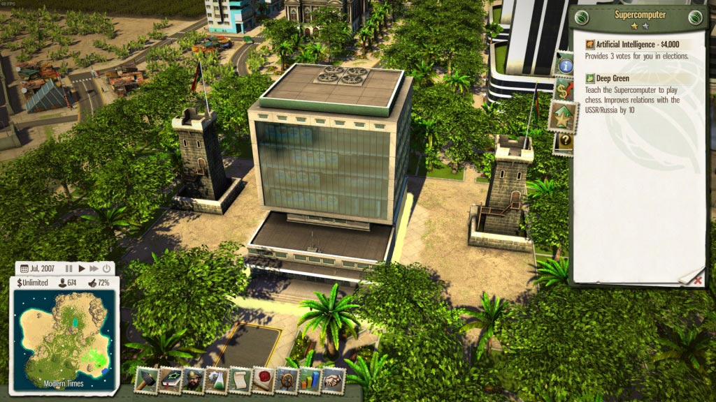 Tropico 5 - The Supercomputer (DLC) STEAM GIFT / RU/CIS