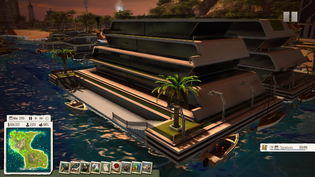 Tropico 5 - Waterborne (DLC) STEAM GIFT / RU/CIS