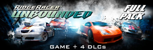Ridge Racer Unbounded Full Pack (+ 4 DLC) STEAM /RU/CIS