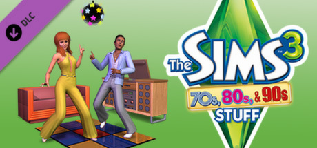 The Sims 3 70´s, 80´s and 90´s (DLC) STEAM GIFT /RU/CIS