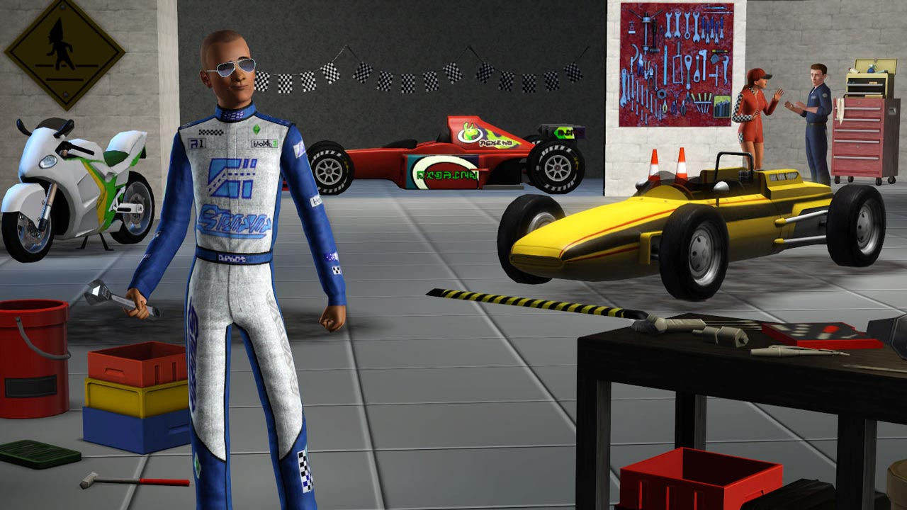 The Sims 3 Fast Lane Stuff (DLC) STEAM GIFT / RU/CIS