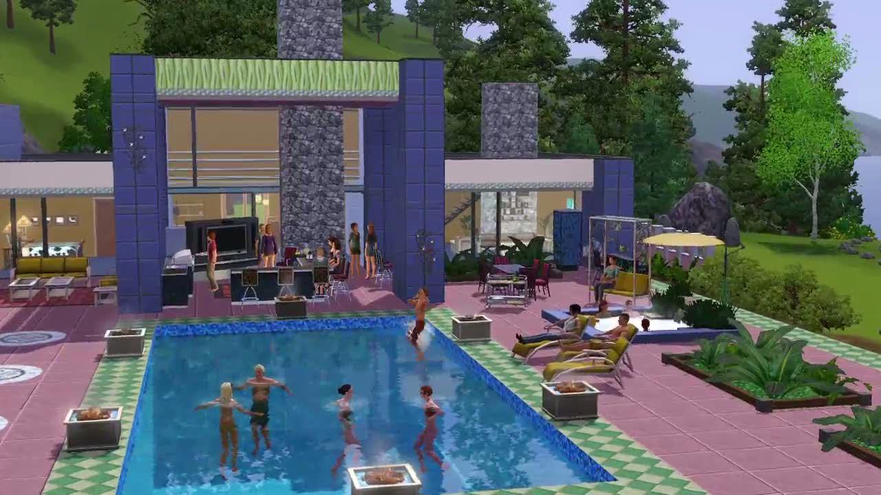 The Sims 3 Outdoor Living Stuff (DLC) STEAM GIFT/RU/CIS