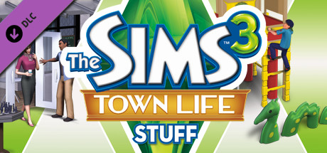 The Sims 3 Town Life Stuff (DLC) STEAM GIFT / RU/CIS