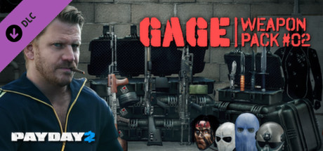 PAYDAY 2: Gage Weapon Pack #02 (DLC) STEAM GIFT / ROW