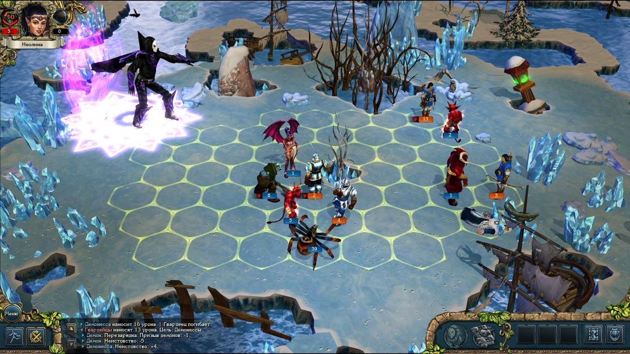 Скриншот  4 - Kings Bounty: Dark Side (Темная сторона) STEAM