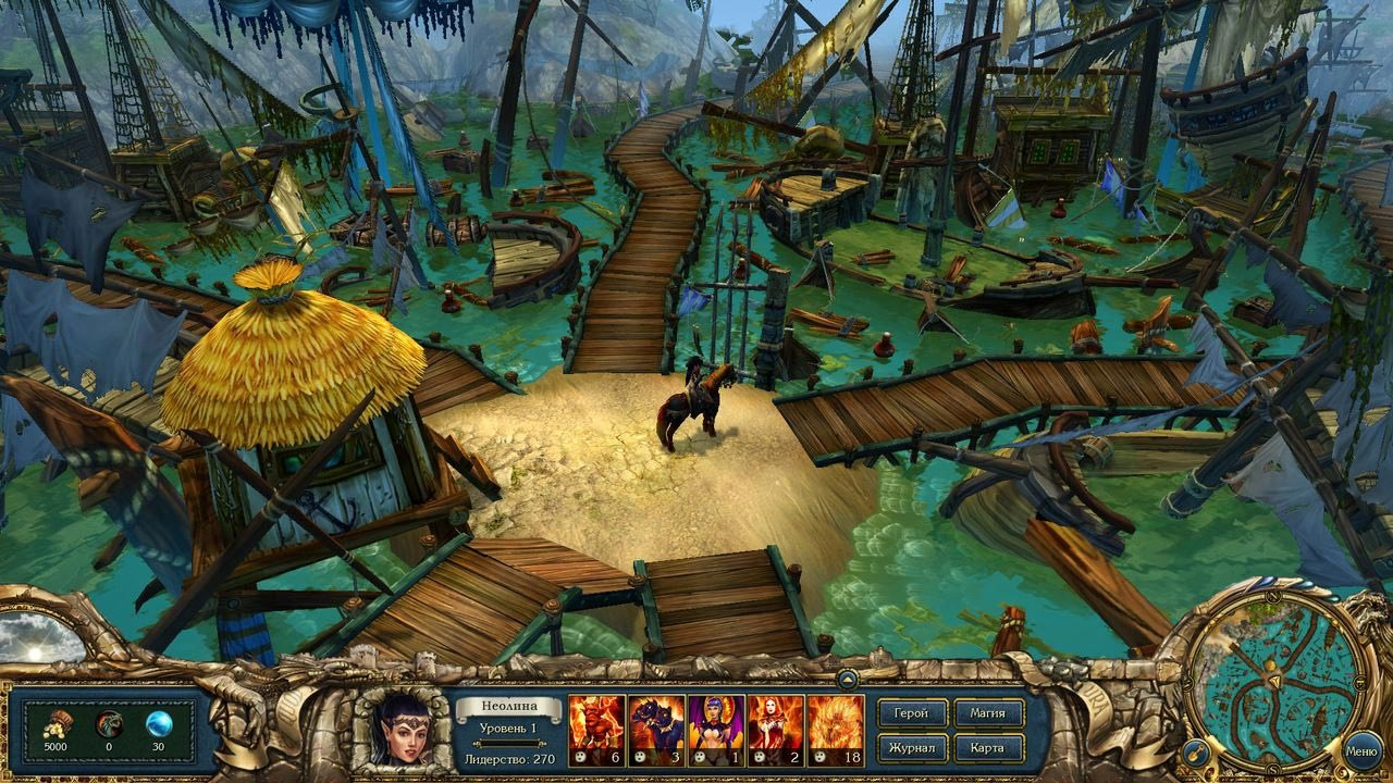 Скриншот  2 - Kings Bounty: Dark Side (Темная сторона) STEAM