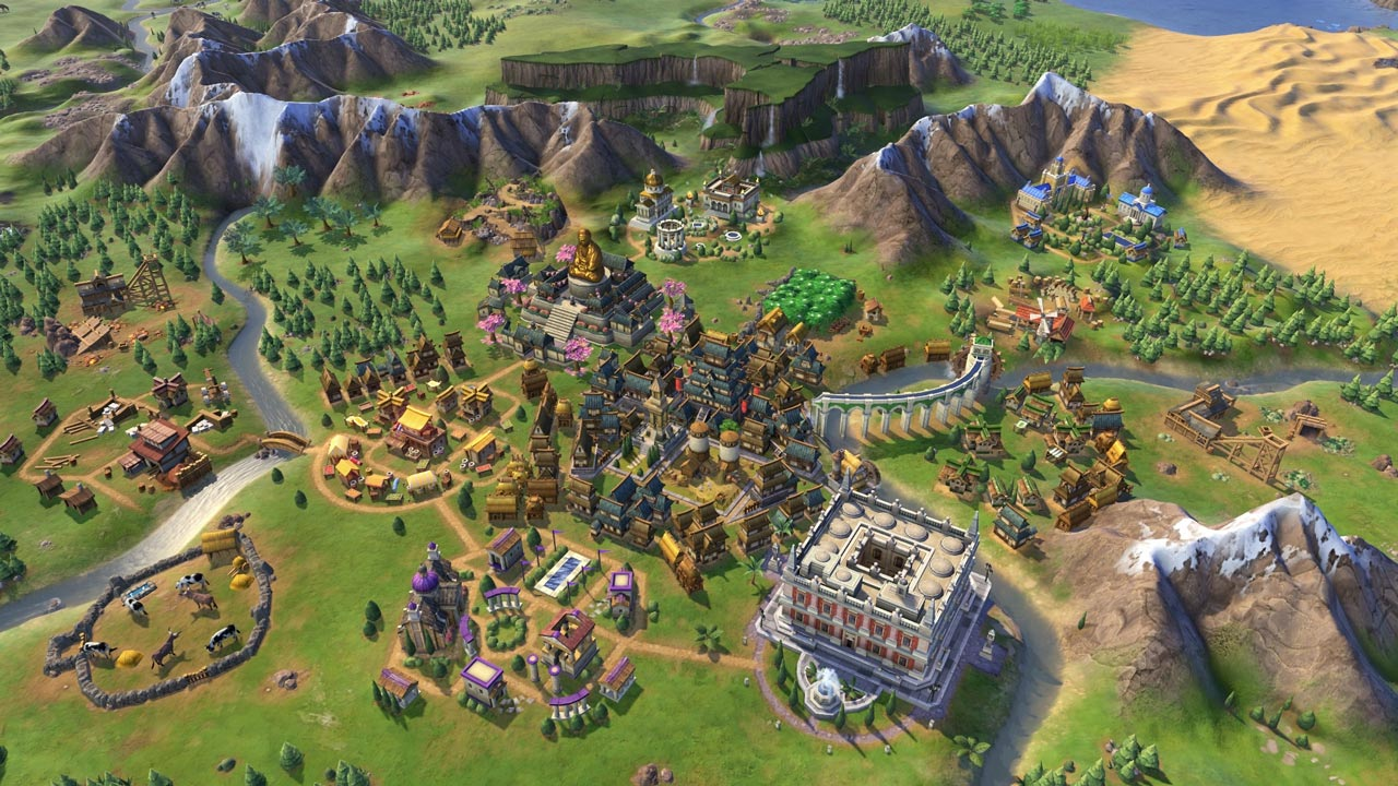 Sid Meier's Civilization VI 6 Rise and Fall (DLC) STEAM