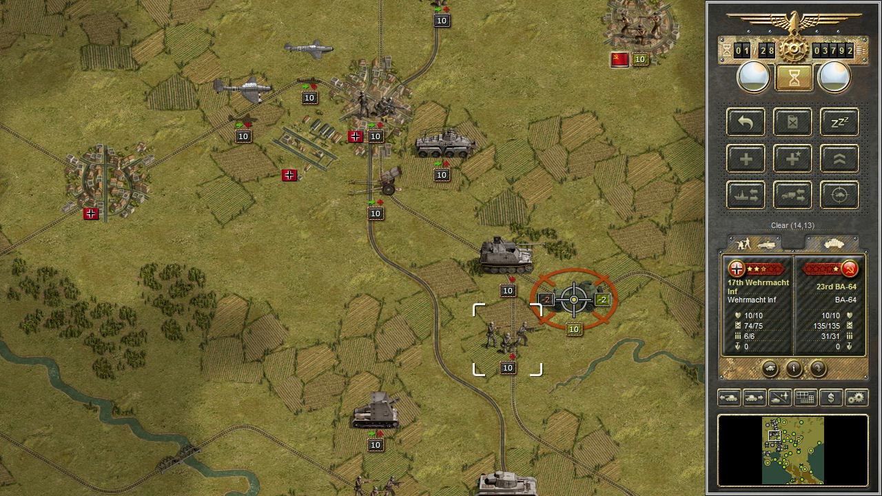 Panzer Corps + Allied Corps (DLC) STEAM KEY / ROW