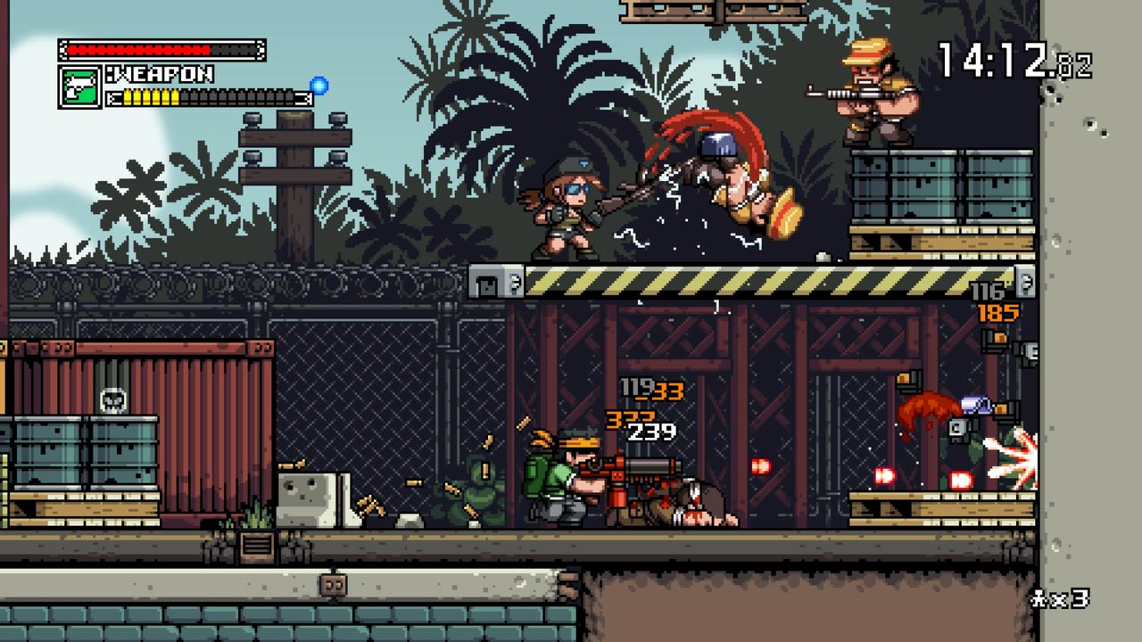Mercenary Kings: Reloaded Edition (STEAM KEY / ROW) 2019