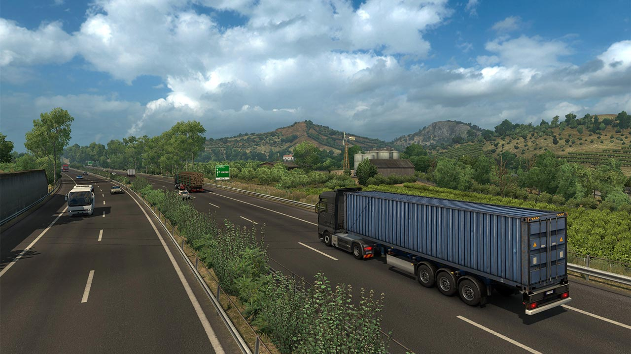 Euro Truck Simulator 2 - Italia (DLC) STEAM KEY / RU