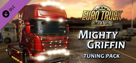 Euro Truck Simulator 2 - Mighty Griffin Tuning Pack DLC