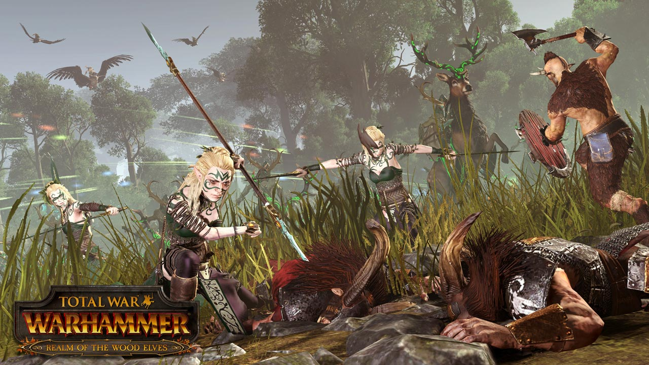 Total War: WARHAMMER - Realm of The Wood Elves (DLC)