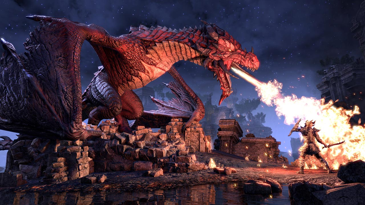 The Elder Scrolls Online: Elsweyr Digital Upgrade STEAM