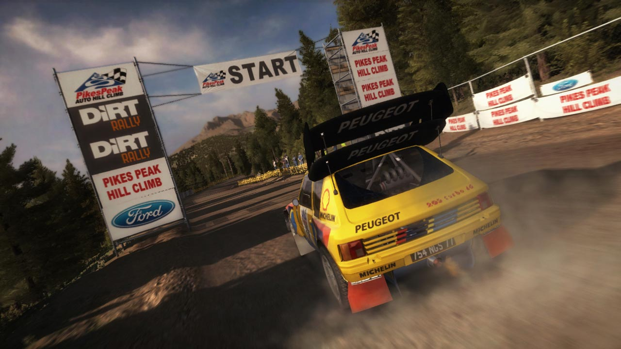 DiRT Rally (STEAM KEY / ROW)