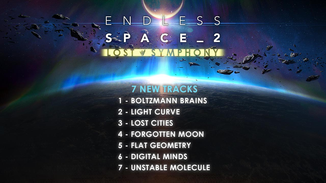 Endless Space 2 - Lost Symphony (DLC) STEAM KEY