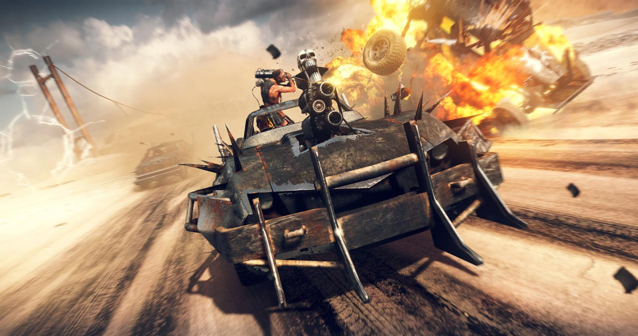 Mad Max + 3 DLC (STEAM KEY / ROW / REGION FREE)