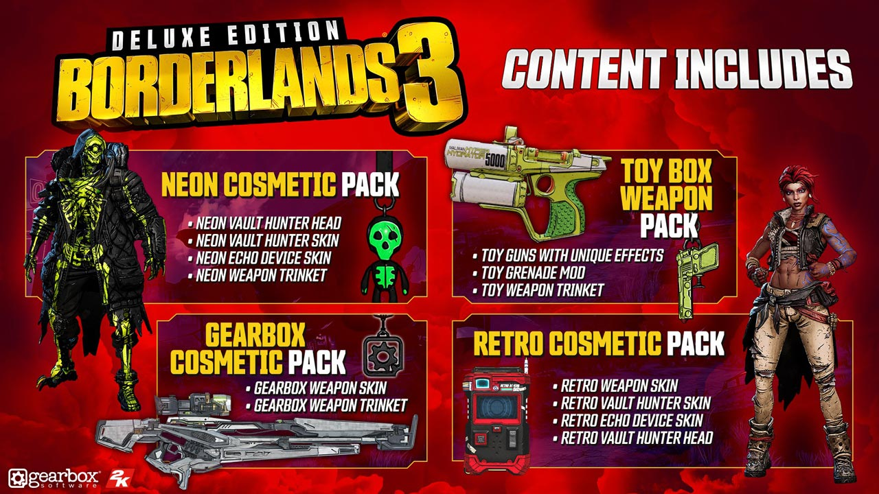 Borderlands 3 - Digital Deluxe Edition (STEAM KEY)