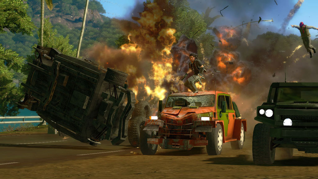 Just Cause 1 + 2 + DLC Collection (9 in 1) STEAM GIFT