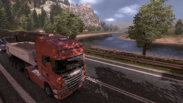 Euro Truck Simulator 2 - Gold Bundle (SteamGift)