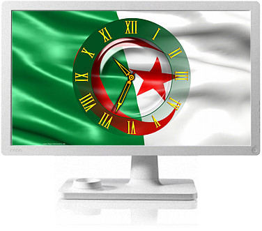 Clock Flag Algeria code activation