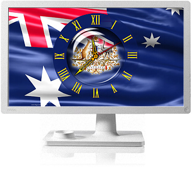 Clock Flag Australia code activation