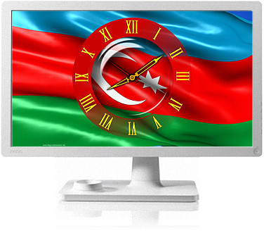 Clock Flag Azerbaijan code activation