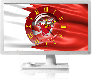 Clock Flag Bahrain code activation