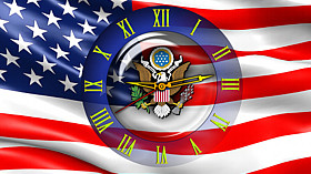 Clock Flag USA code activation