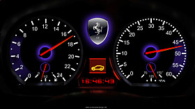 Speedometer Clock Screensaver code activation