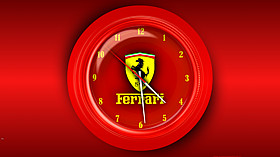 Ferrari Clock Screensaver code activation
