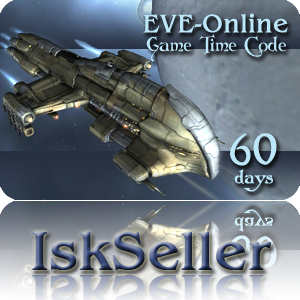 EVE-ONLINE GAME TIME CARD 60-DAYS