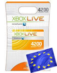 X-BOX® –EURO– Prepaid Card - 4200 points