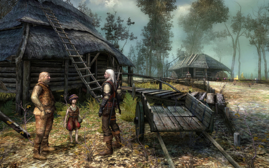 The Witcher: Enhanced Edition (Gift/ RU+CIS) + ПОДАРОК