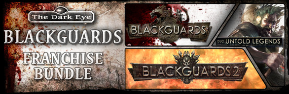Blackguards Franchise Bundle (Steam Gift/RU+CIS)