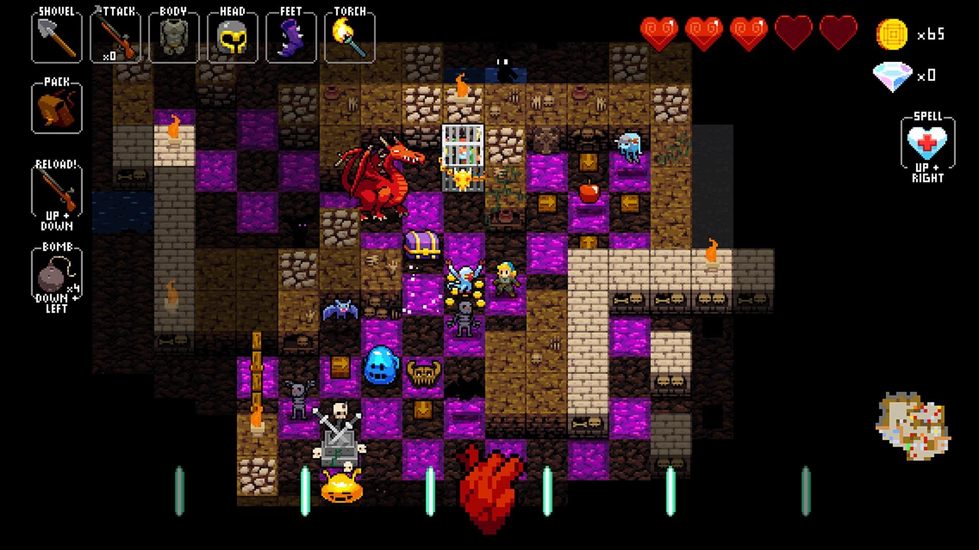 Crypt of the NecroDancer (Steam Gift/RU) + BONUS 2019