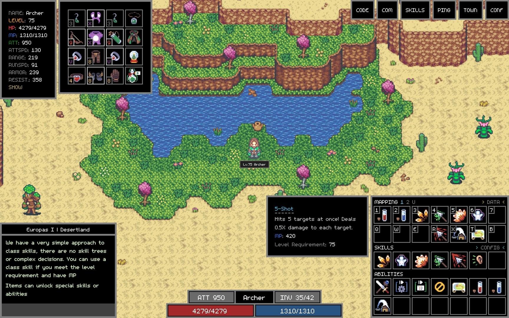 Adventure Land - The Code MMORPG (Steam Gift/RU) + BONUS 2019